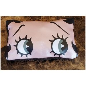 Ipsy & Betty Boop Make Up Bag with Makeup